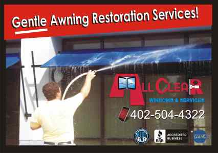 awning cleaning company omaha neb